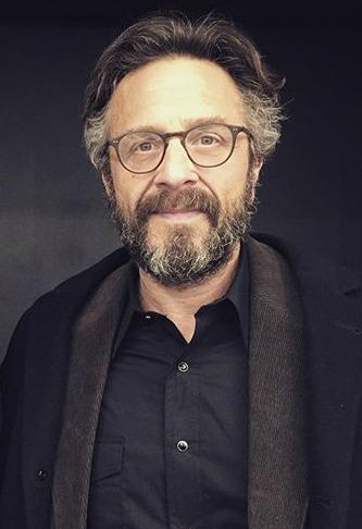 Photo de Marc Maron avec un hauteur de 174 cm et à l'age de 54 en 2018