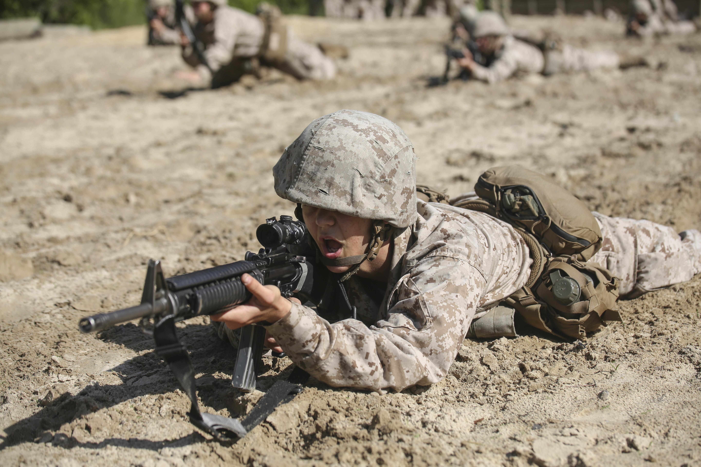 US Military News • Marine Corps Martial Arts • Marine Corps Recruit Depot, San Diego, June 2021