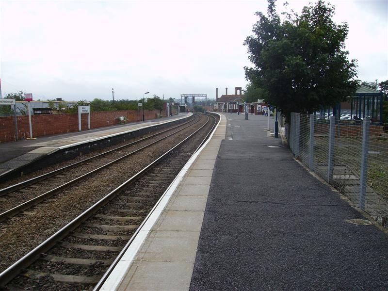 Market harborough railway station history book