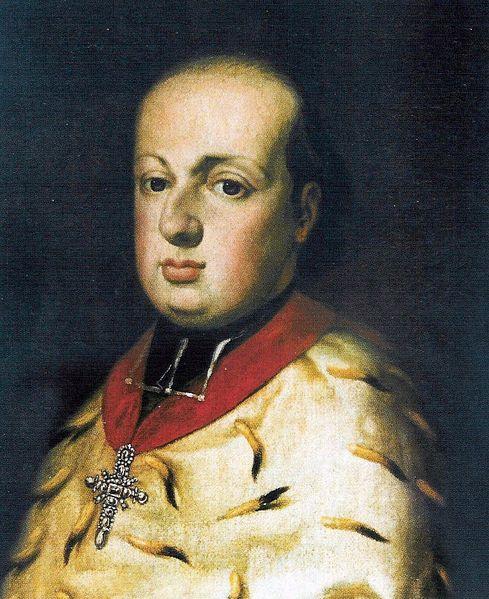 El archiduque Maximiliano Francisco de Austria (1756-1801), patrocinador financiero de Beethoven.