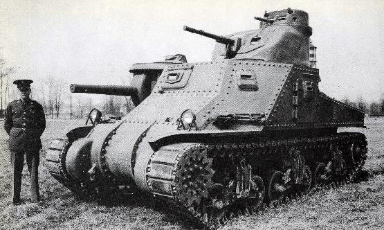 Arbol Tecnologico Estadounidense (PARTE 2) Medium_Tank_M3_s-n_1