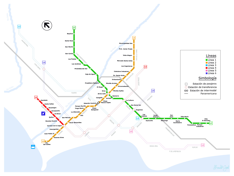 Lima Metro Метро в Ліма