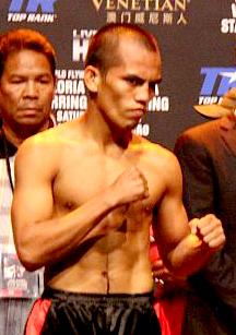 Milan Melindo Filipino boxer