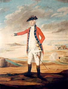 Moses Corbet Governor of Jersey