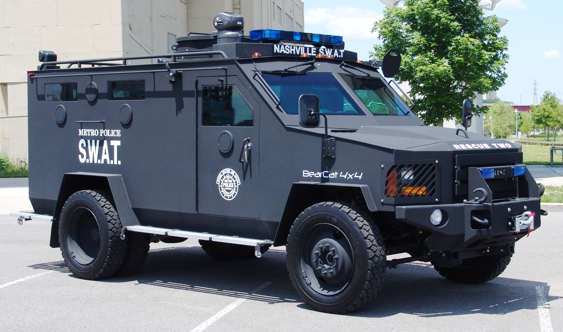 Towns Say No Tanks To Militarized Police Growing Unease