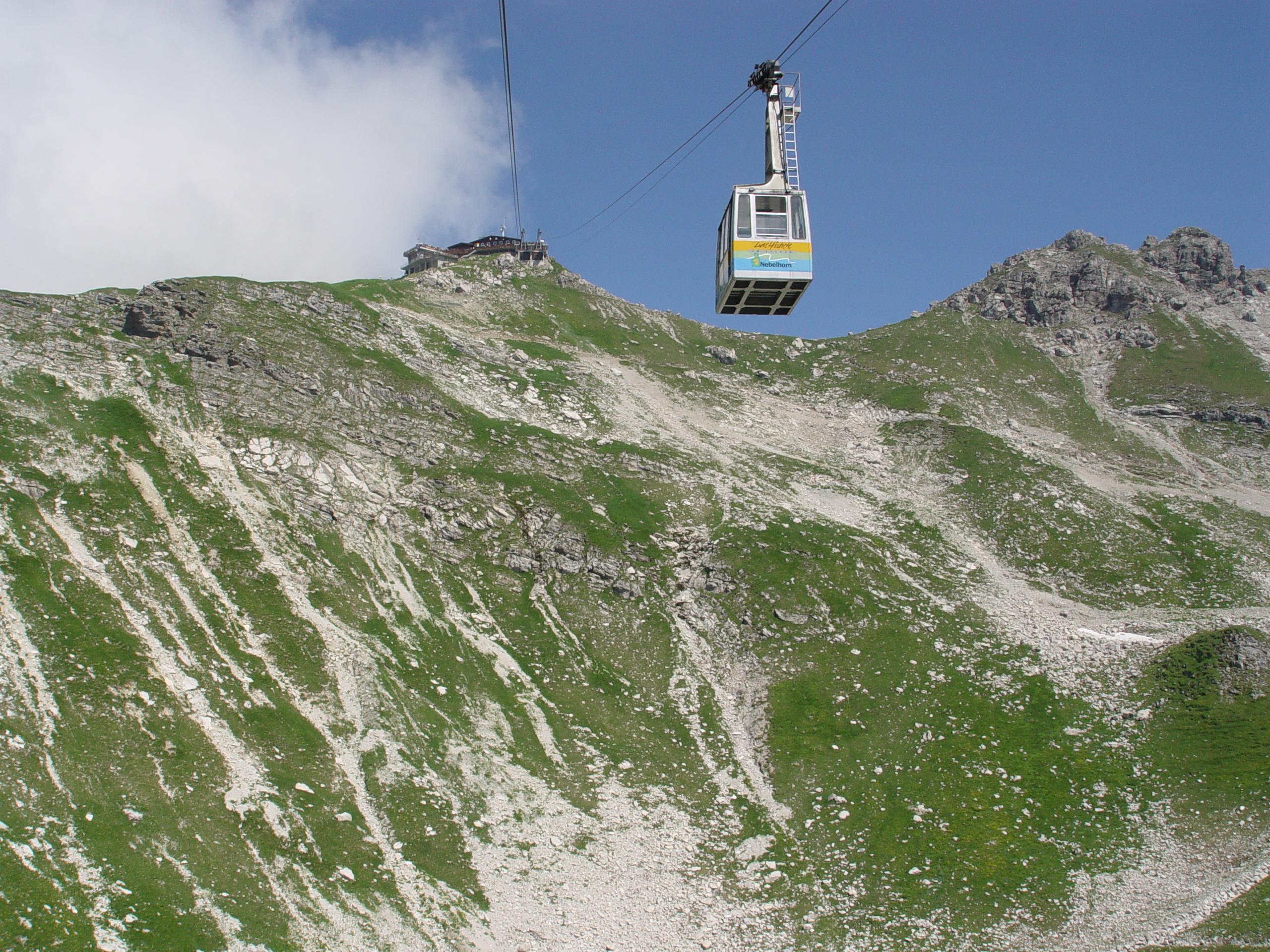 nebelhorn bahn