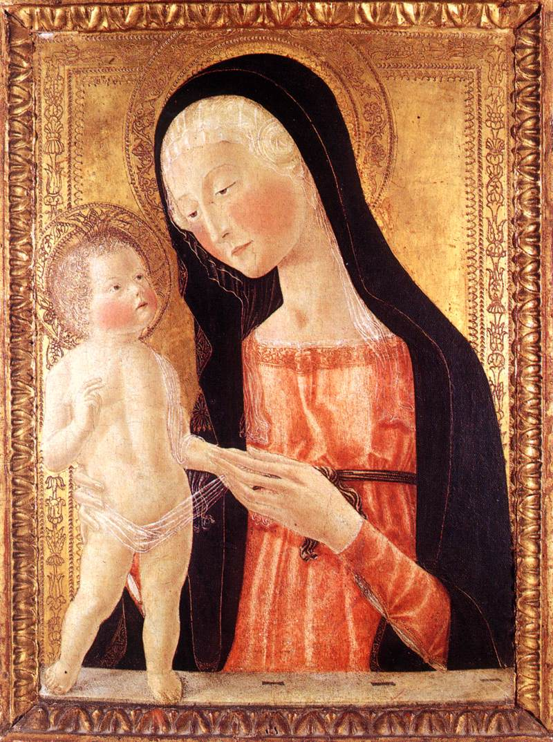 Neroccio de' Landi - Madonna with the Child - WGA16517.jpg