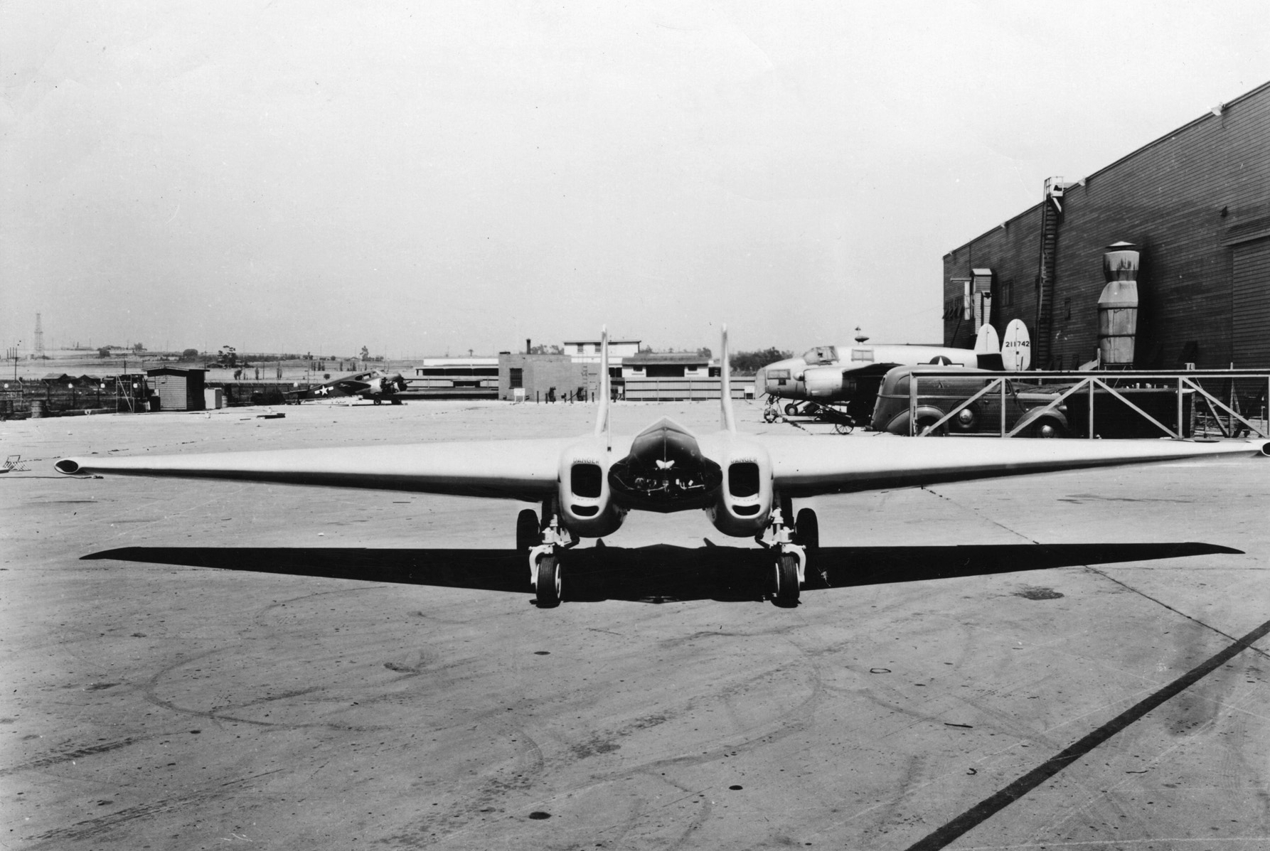 File Northrop Xp 79b Front View Jpg Wikimedia Commons