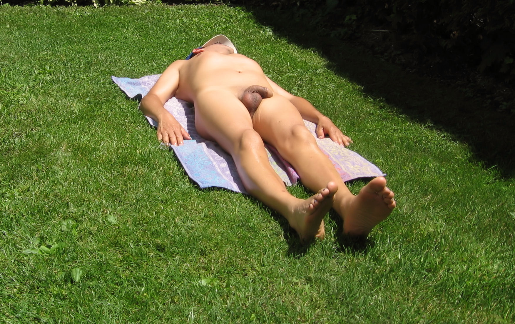 from Spencer gay suntanning