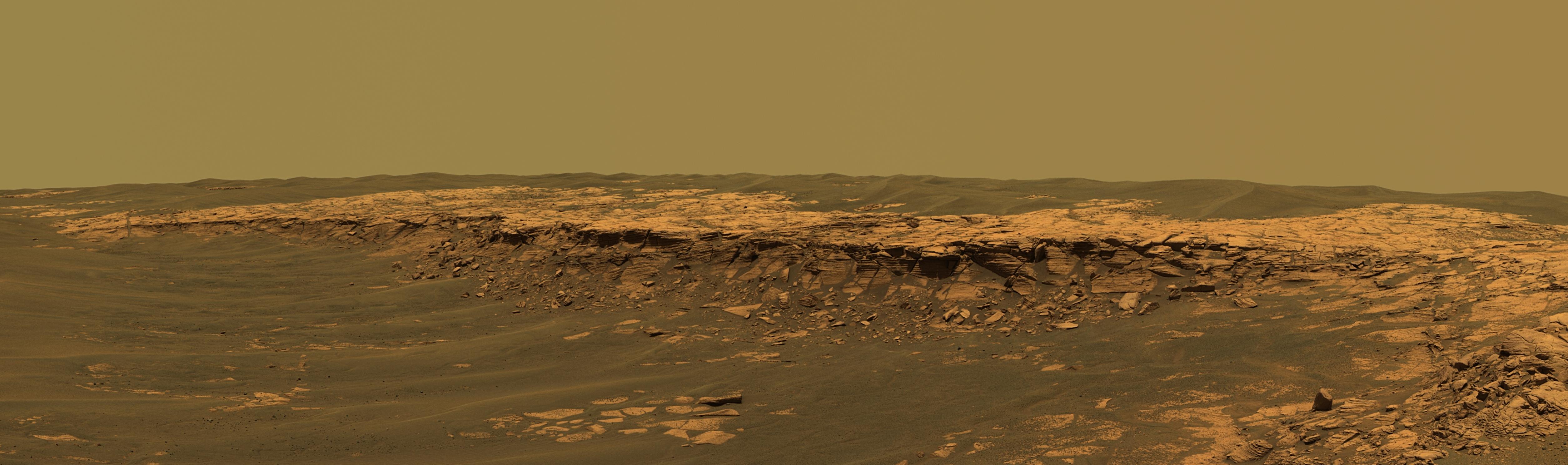 mars surface curiosity panorama - photo #18