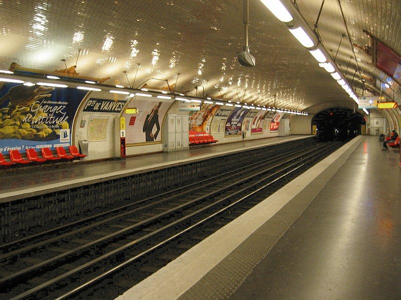 Métro Porte Vanves ligne 13