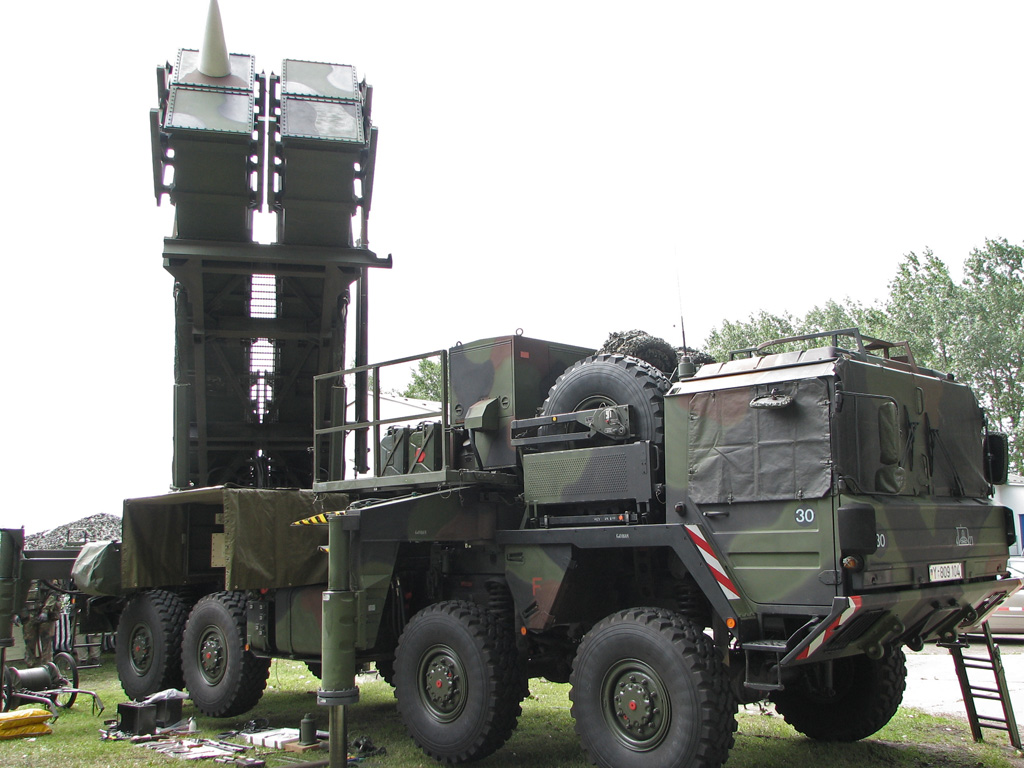 Depiction of MIM-104 Patriot