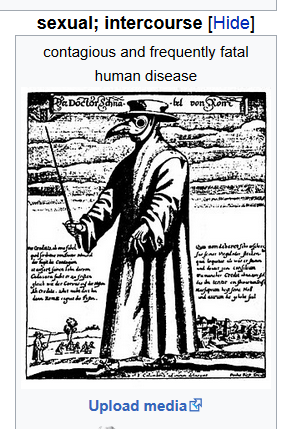 The plague, or as it will now be known as ...