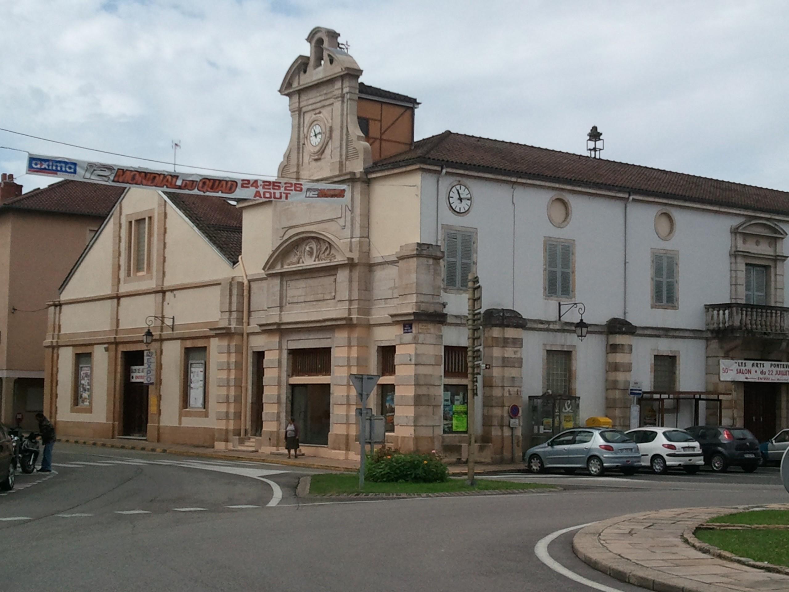 Maison racle franche rue 53 pont de vaux monument for Piscine pont de vaux