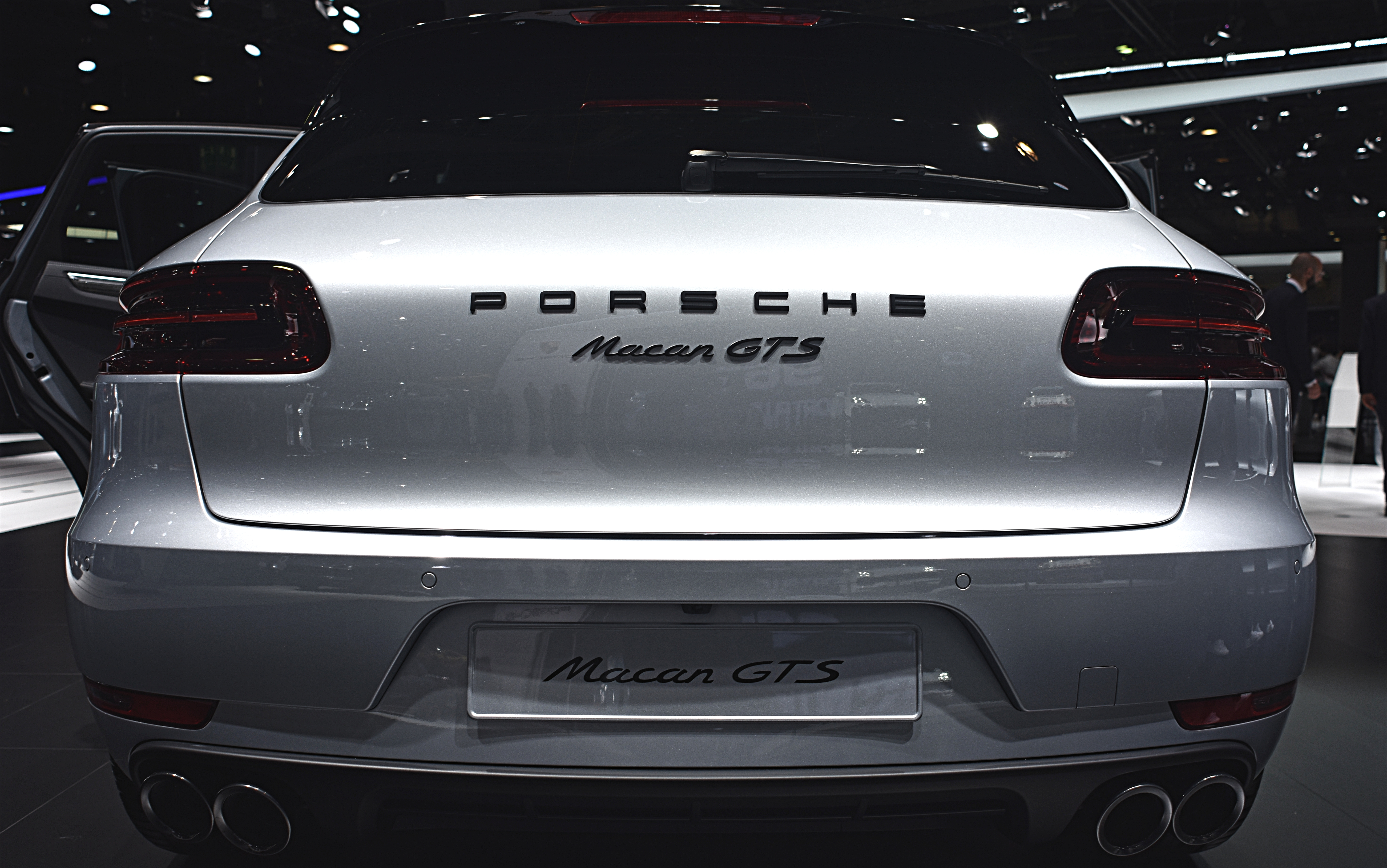 File Porsche Macan Gts Rear Iaa 2017 By Nicolas Volcker Jpg Wikimedia Commons