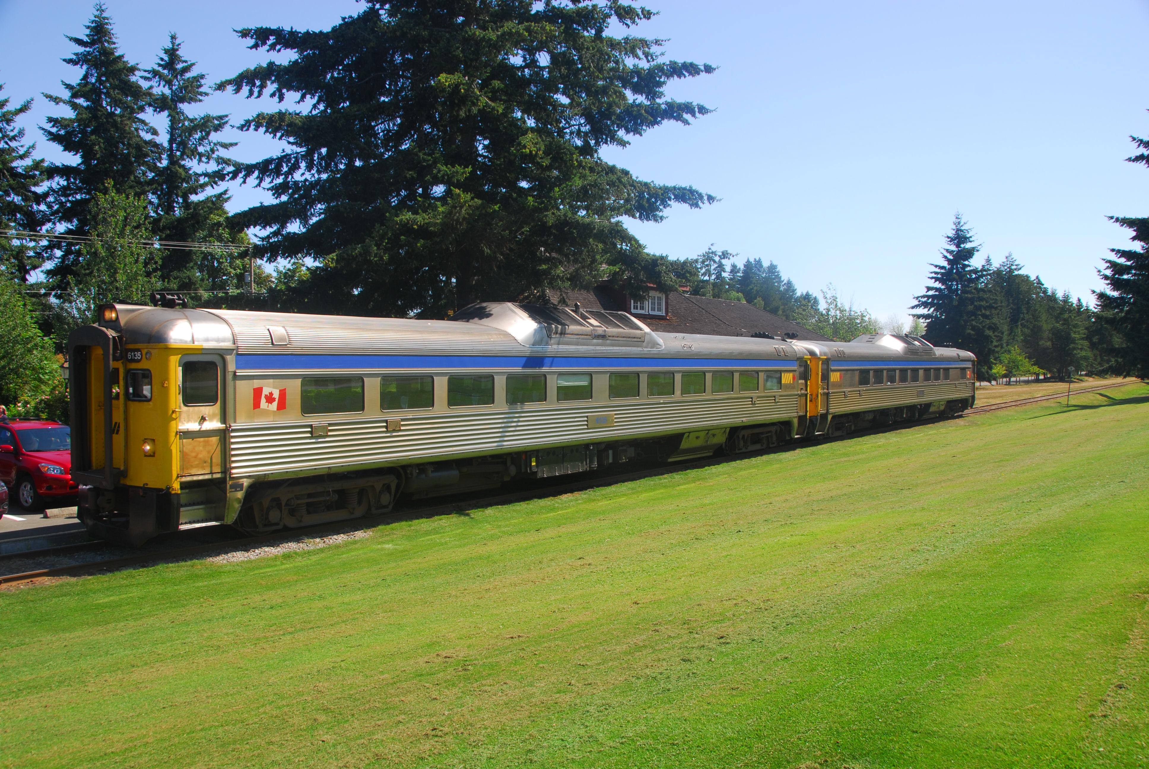Dayliner Train Vancouver Island
