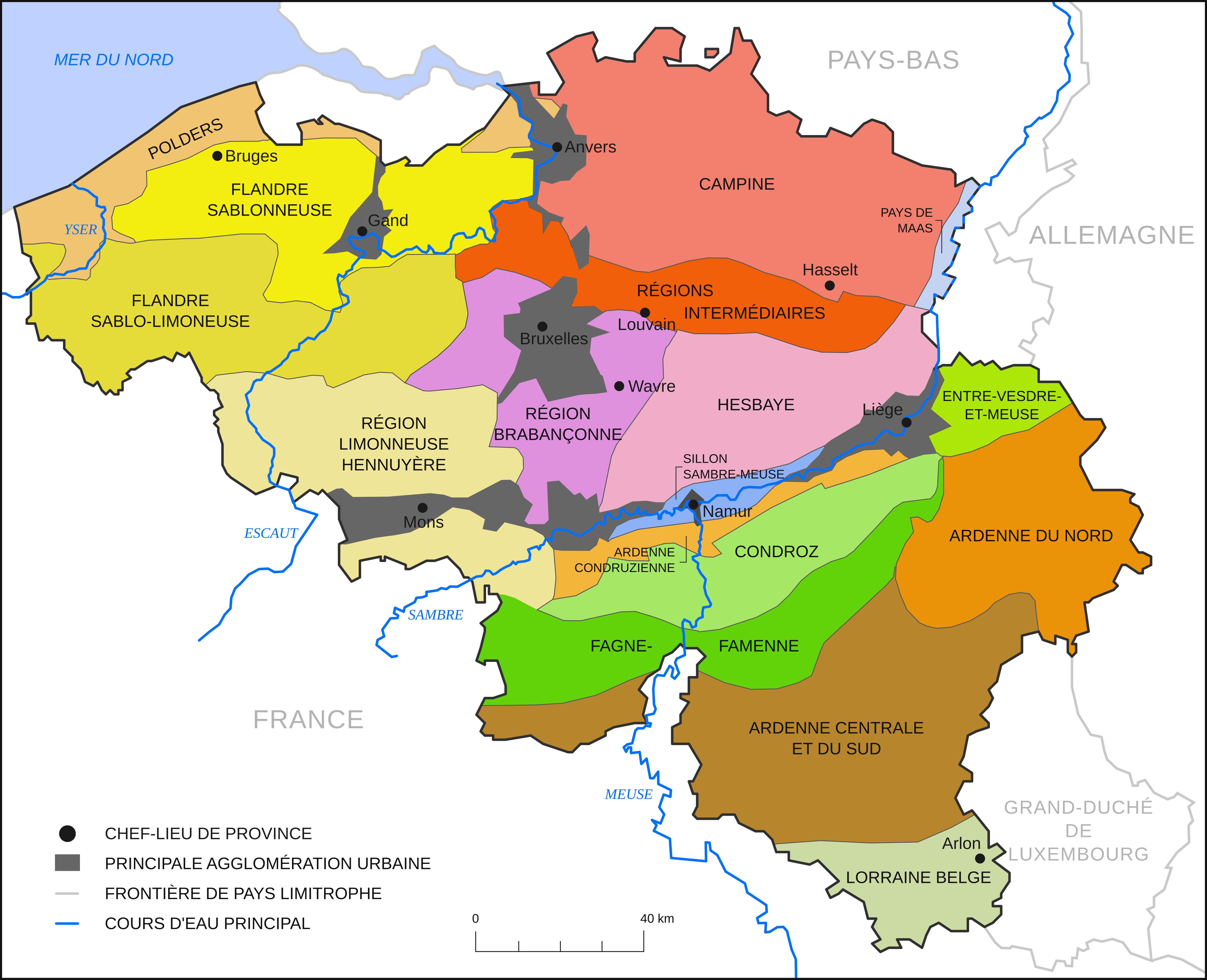 Regions Naturelles De Belgique Wikipedia