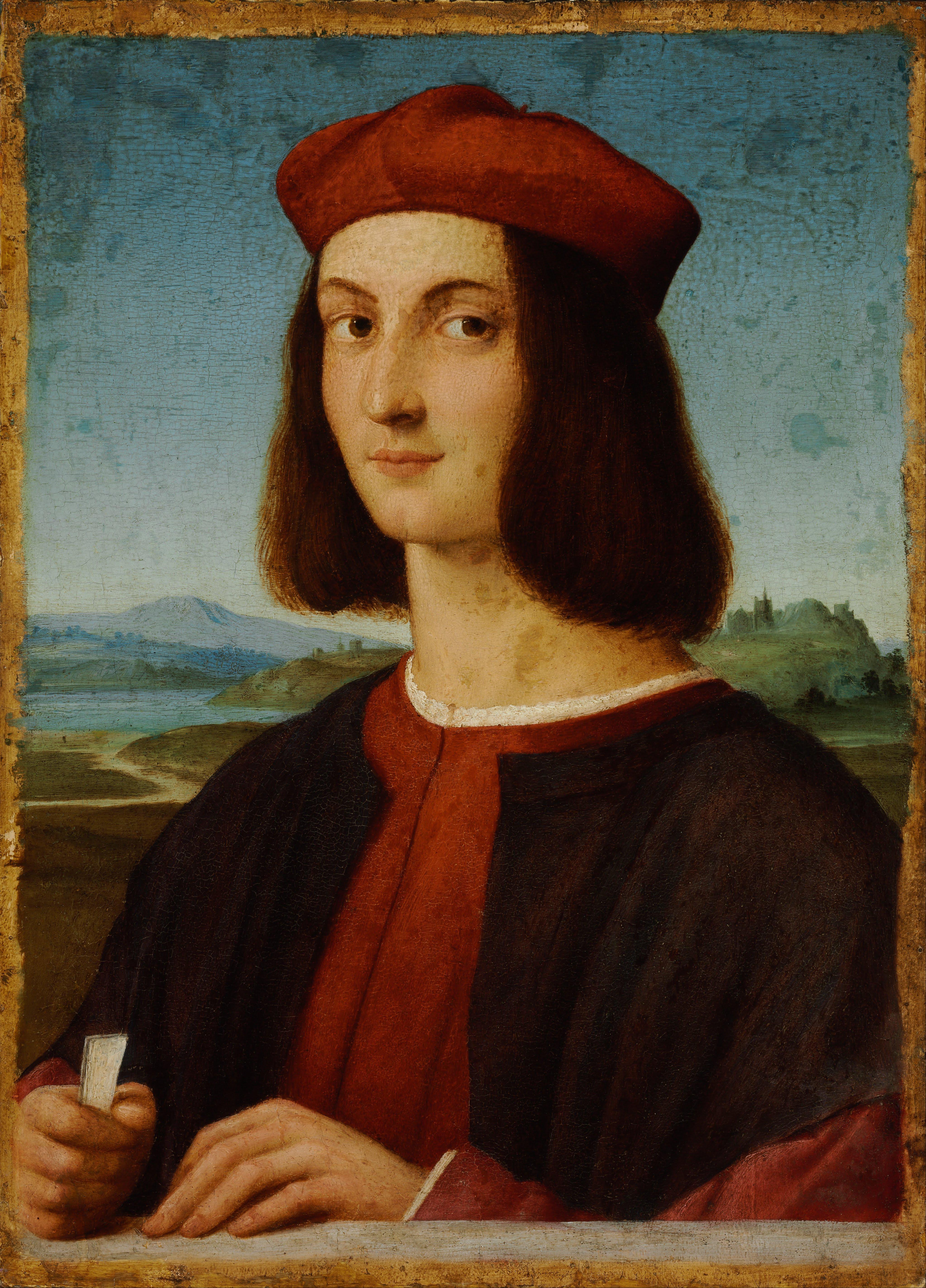 File:Raffaello Santi - Portrait of Pietro Bembo - Google