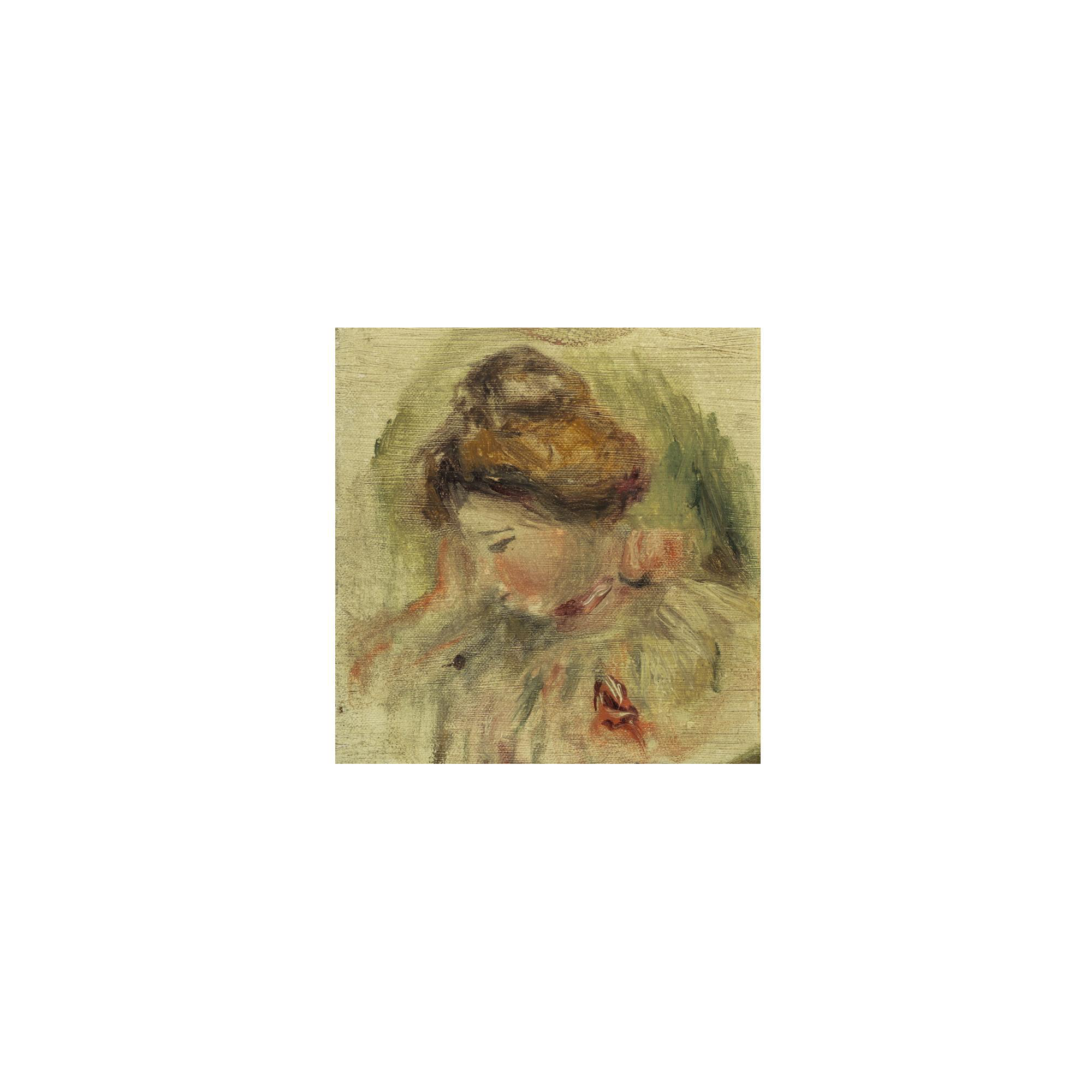 Filerenoir Tête De Femme 146 By 14cmjpg Wikimedia