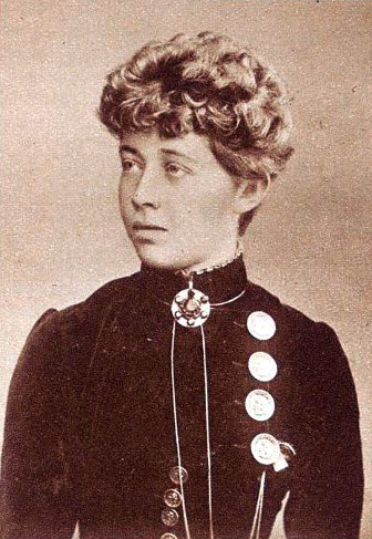 Ricarda Huch (1864–1947) pisarka, poetka