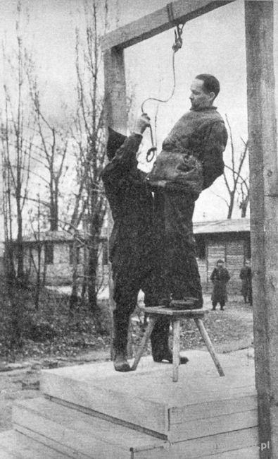 Avrättningen av Rudolf Höss
