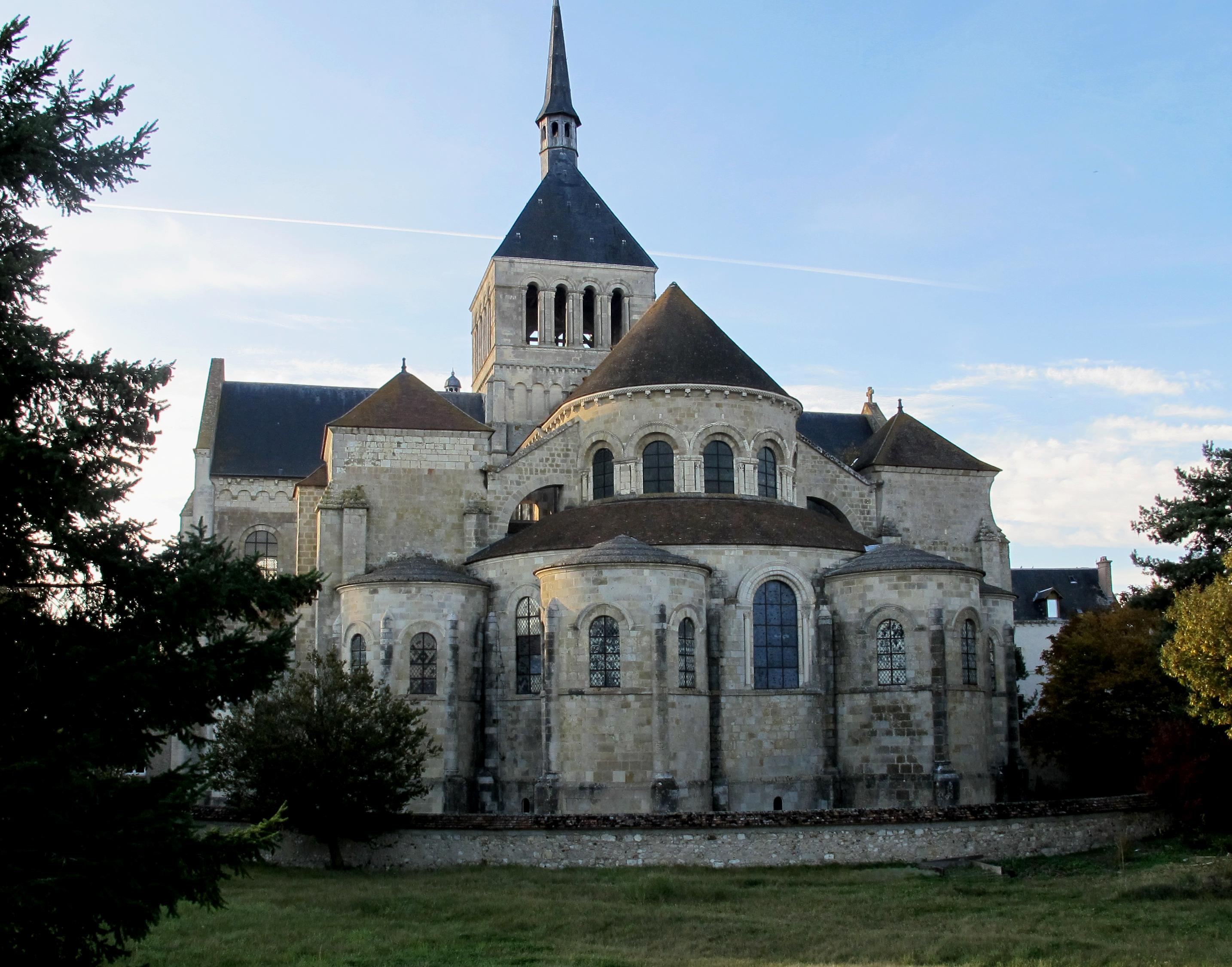 Abbaye de saint beno t sur loire wikiwand for Abbaye de st croix salon