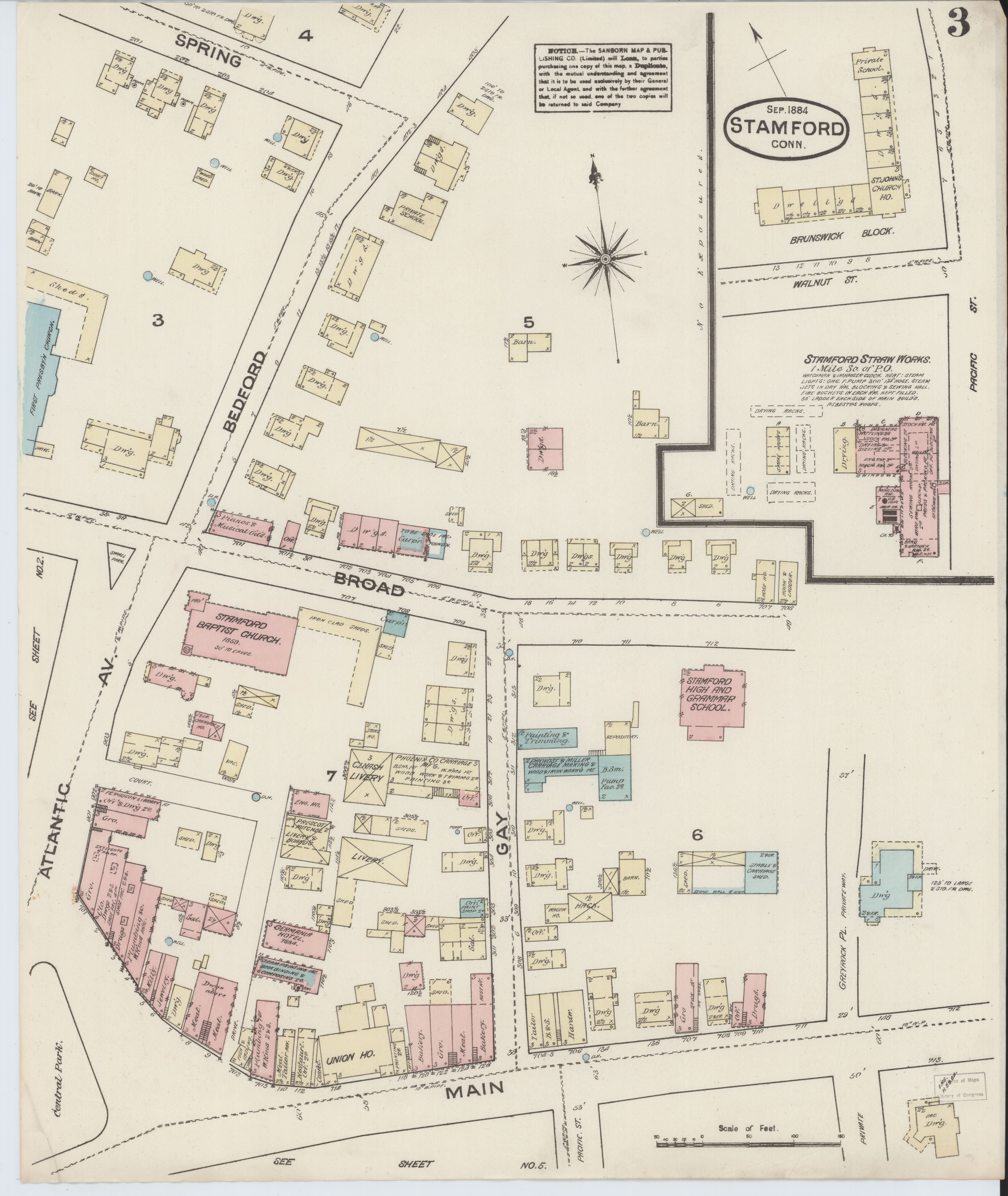 File Sanborn Fire Insurance Map From Stamford Fairfield County