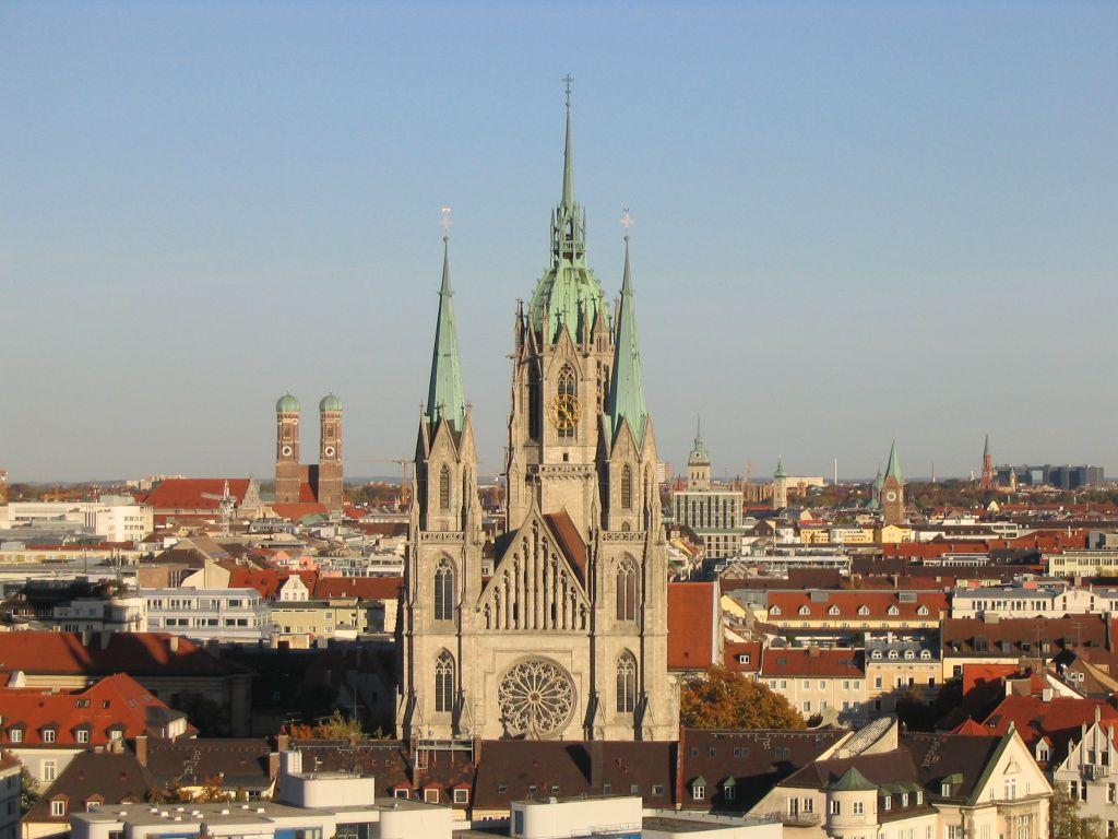 Iglesia de San Pablo (Múnich) - Wikipedia, la enciclopedia libre