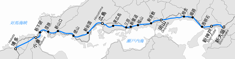 Sanyo Shinkansen map plain.png