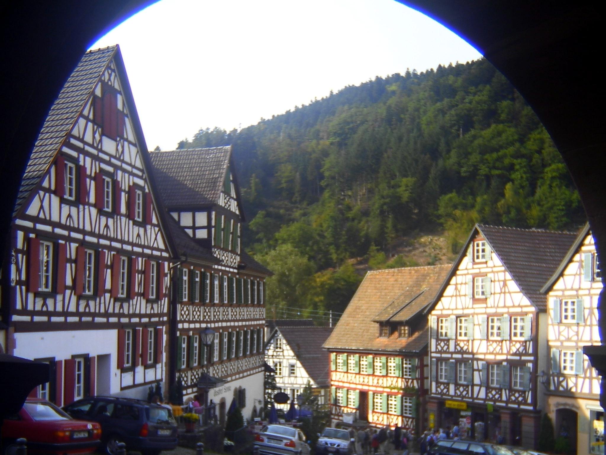 Schiltach im Schwarzwald, an der Deutschen Fachwerkstraße
