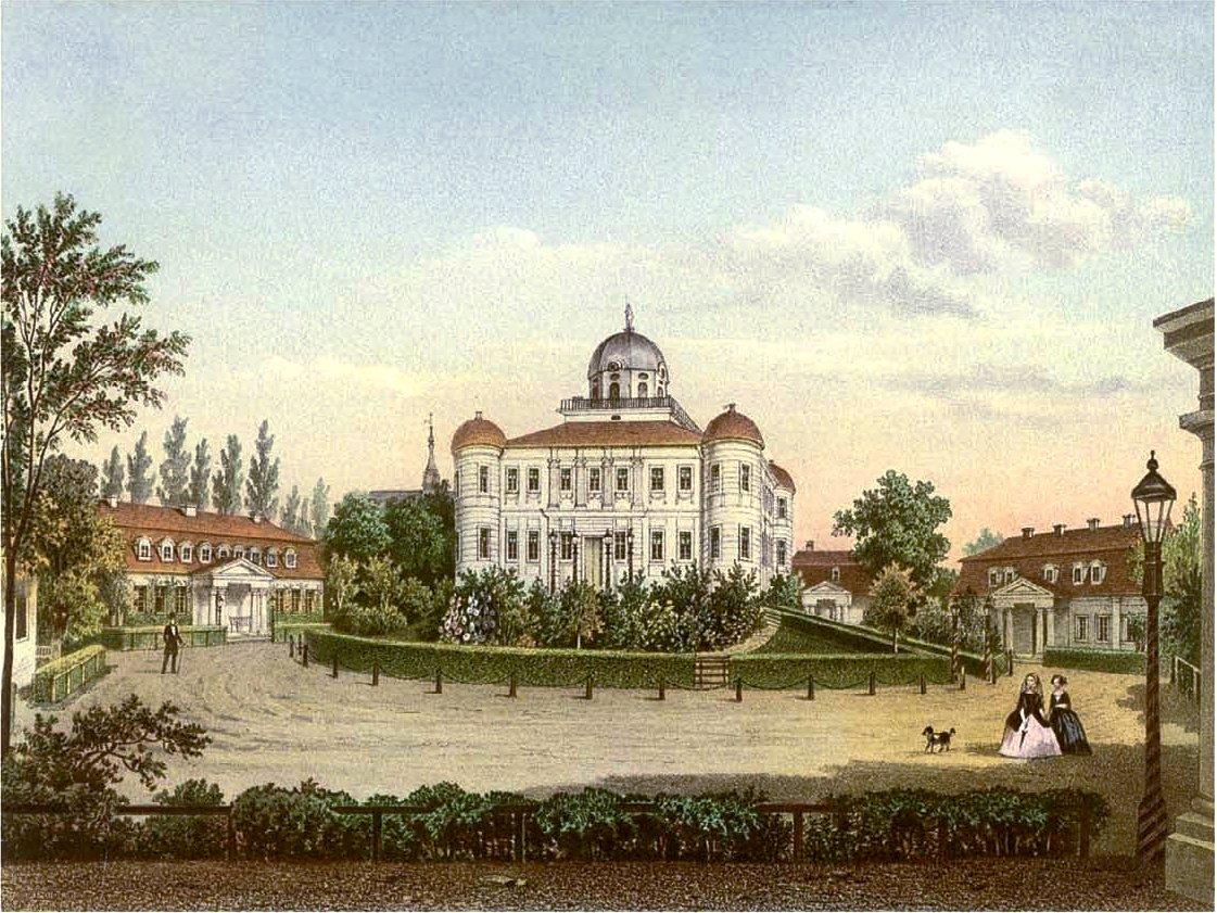 Former castle in Pokój
