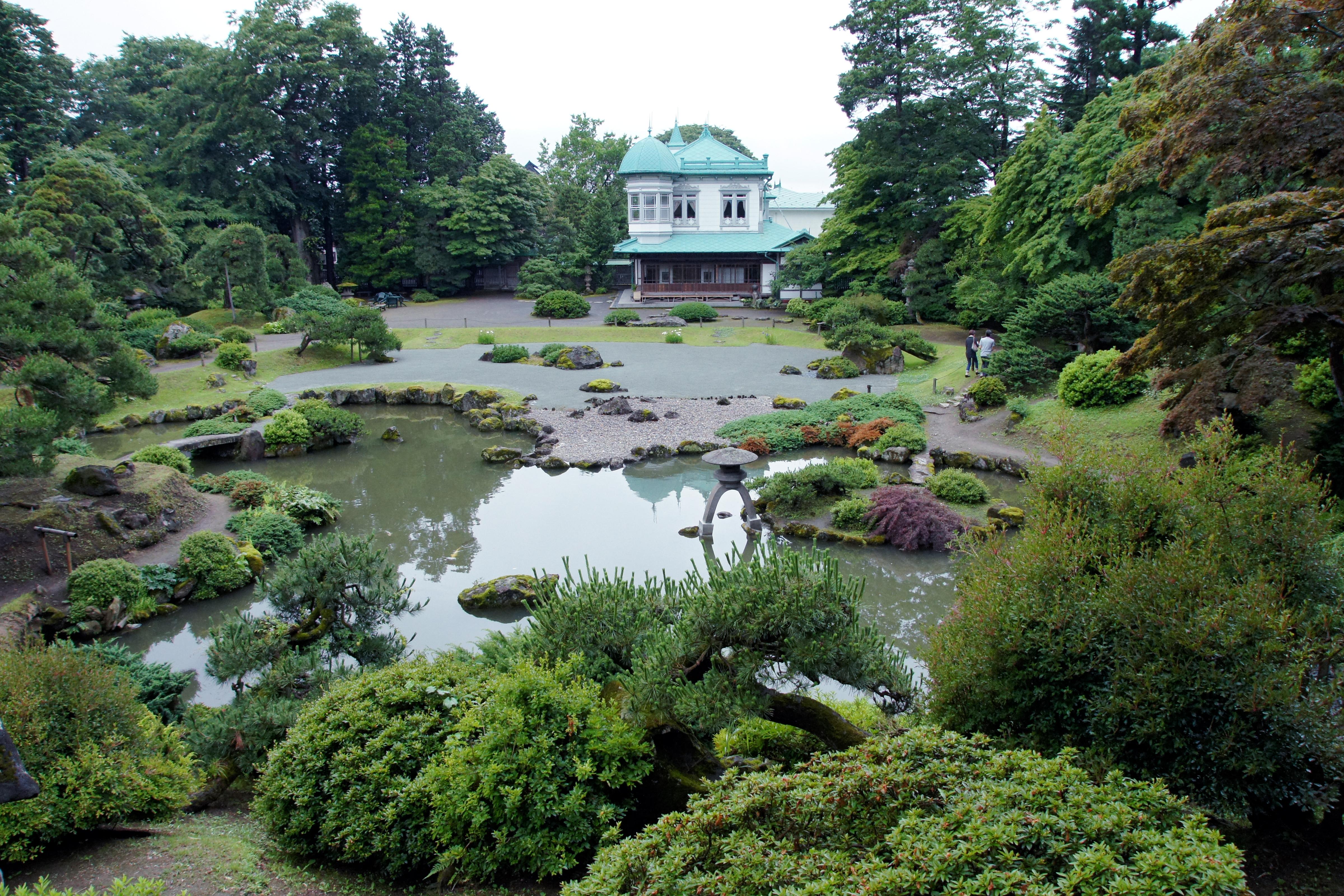 Japanese Gardens Wikimedia Commons
