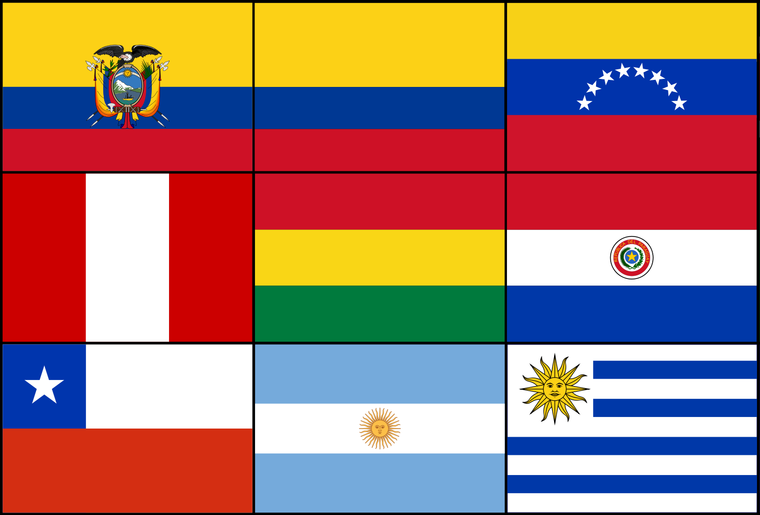 Image Result For Flags Of Hispanic