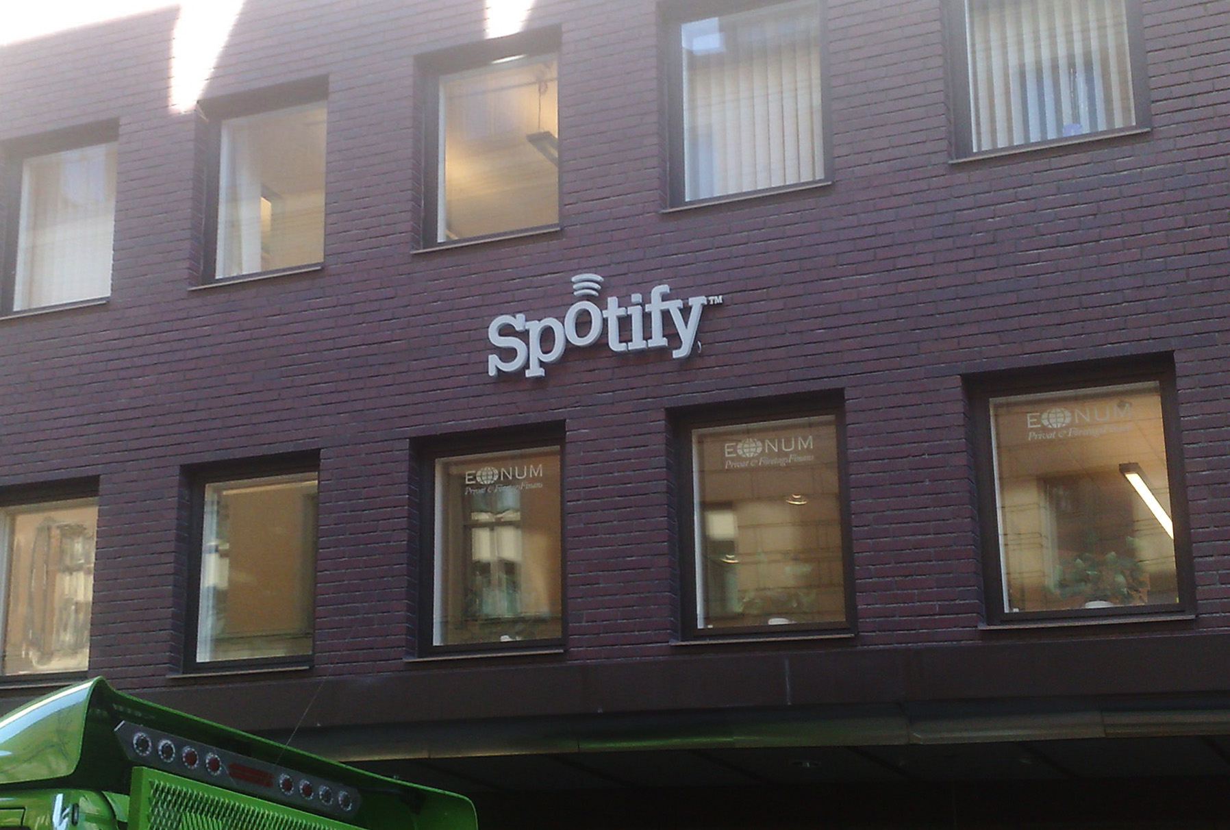 Former Spotify headquarters in Stockholm