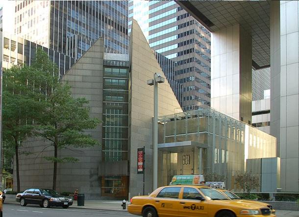 St. Peter's Citicorp, Manhattan, New York. WikiCommons.