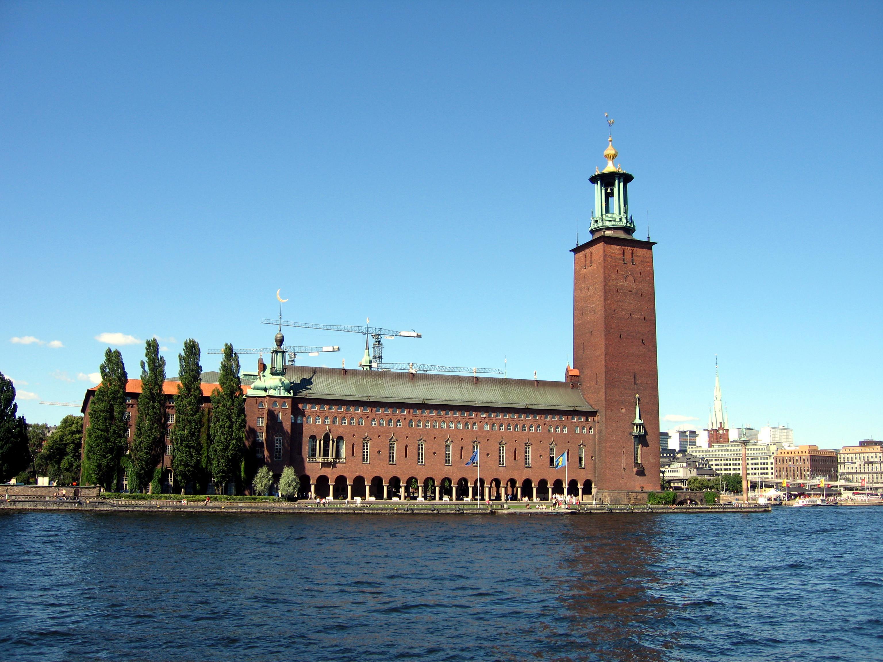 Image result for stockholm city hall