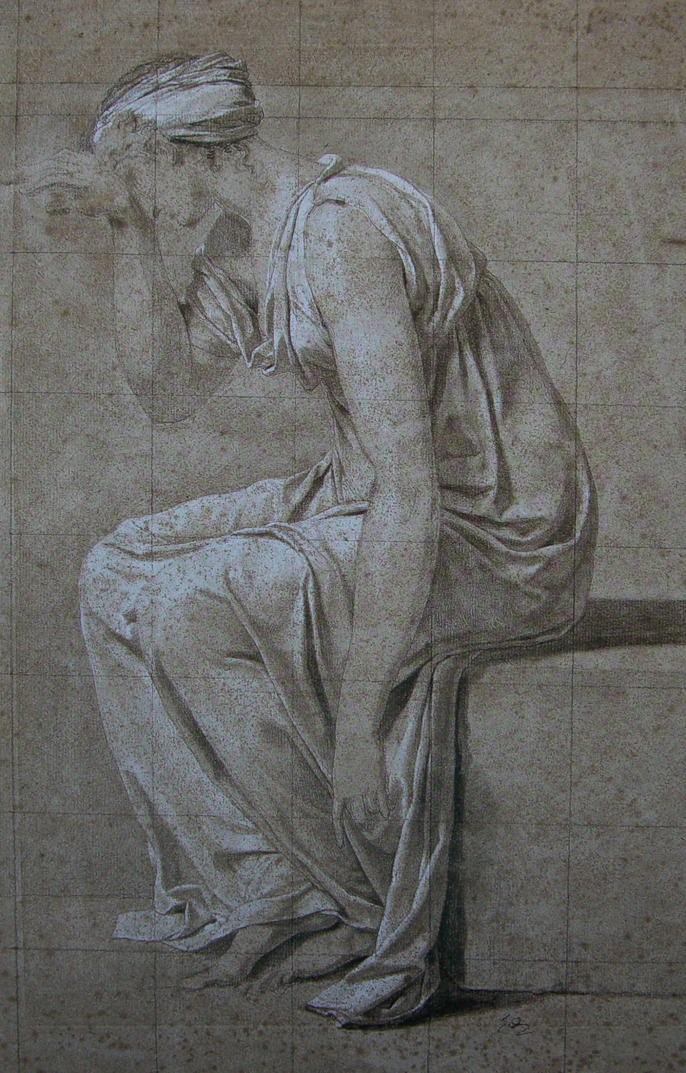 Study for the Oath of the Horatii Sabina.jpg