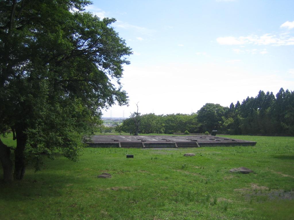 Taga castle ruin