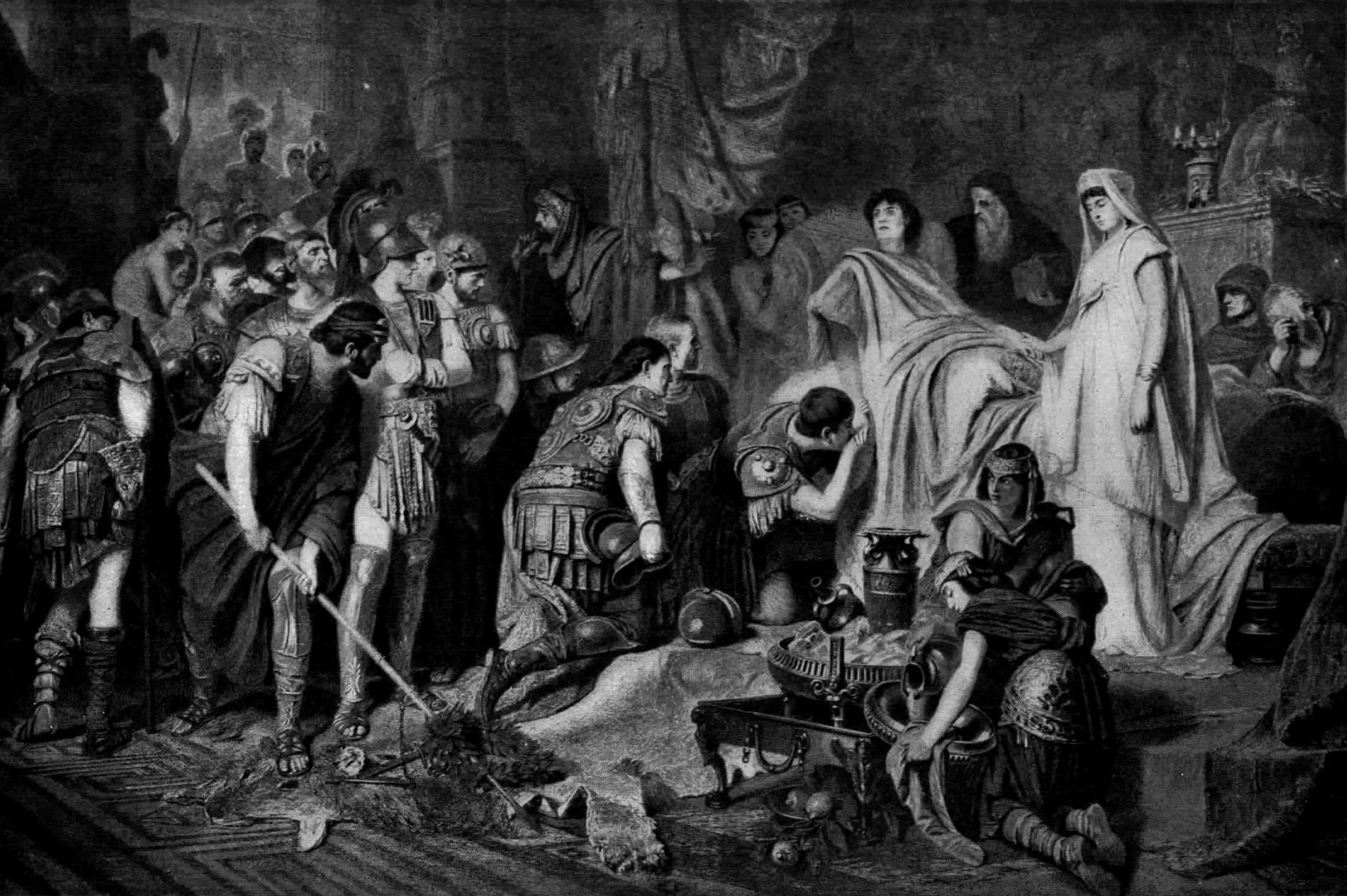 Αποτέλεσμα εικόνας για the death of alexander the great