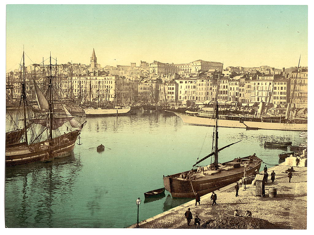 File:The Library of Congress - (Old Harbor (Vieux-Port), Marseille, France, w...