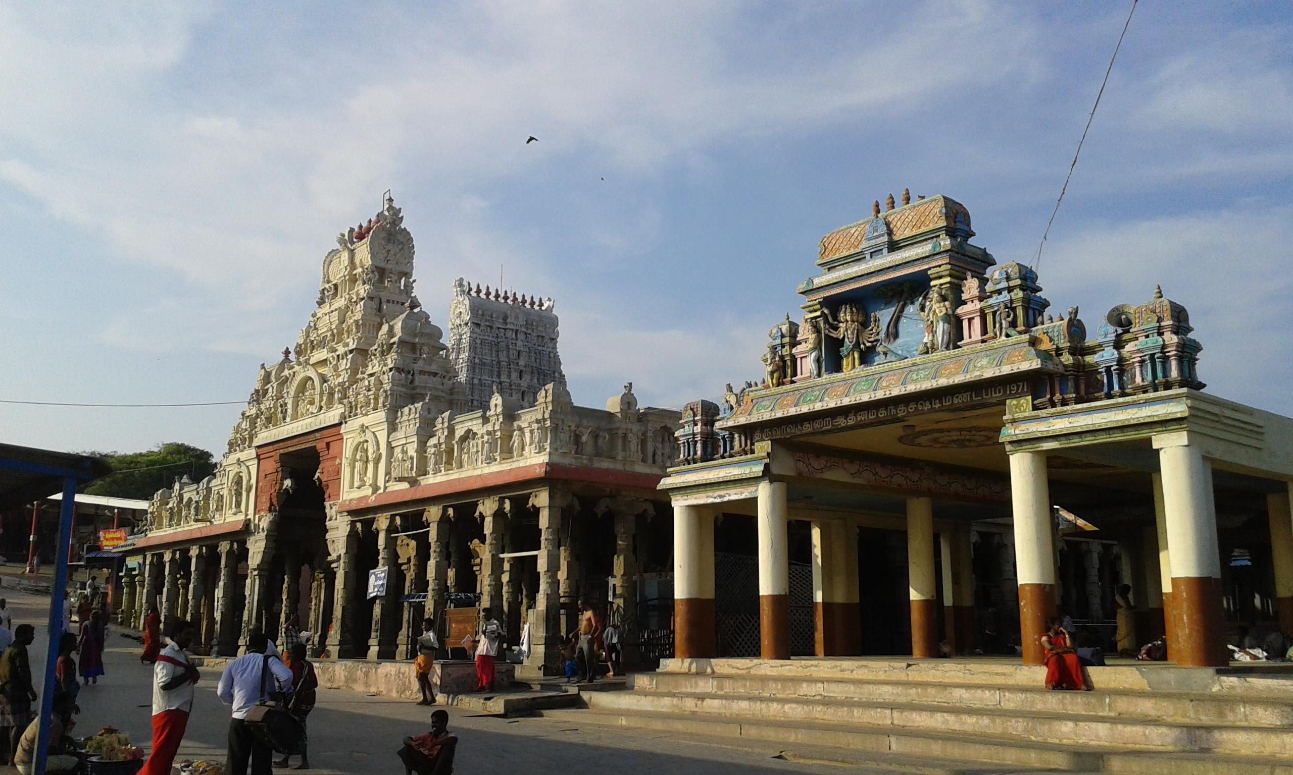 Arulmigu Subramaniya Swamy Temple, Tiruchendur - Wikipedia