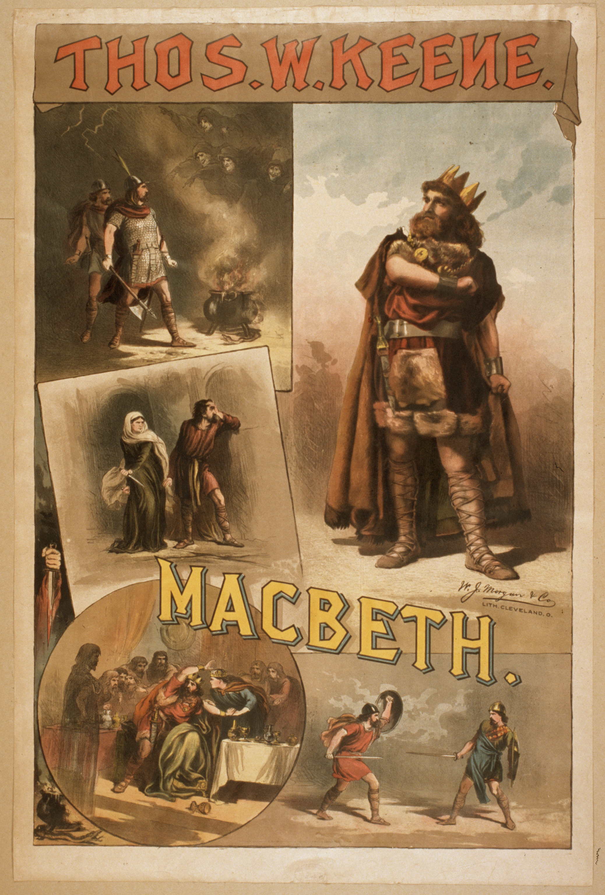 Depiction of Macbeth