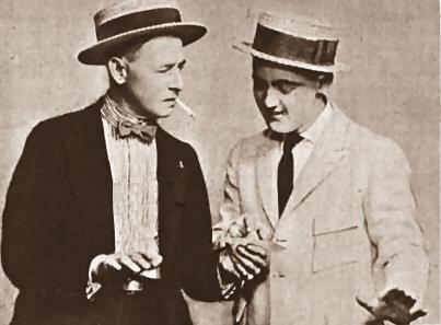 L-R William Collier, Sr. and Frank Tinney American Magazine, 1921 Tickle Me 001.JPG
