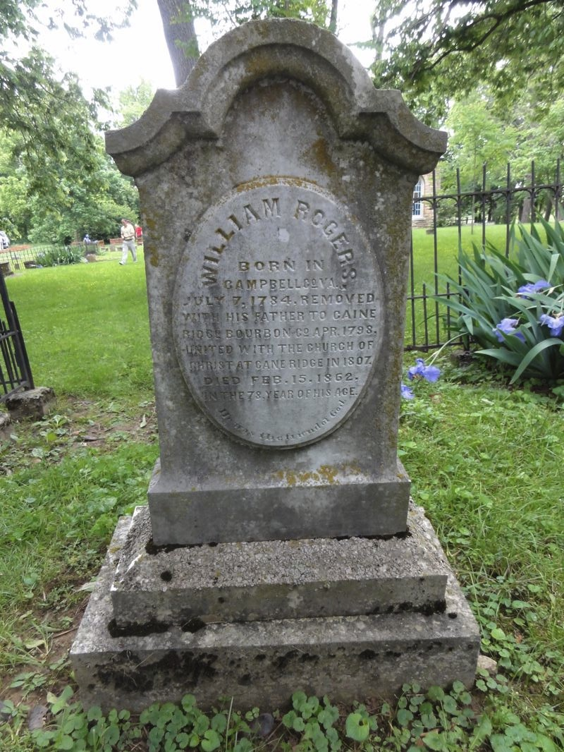 File Tombstone Of William Rogers Located In The Old