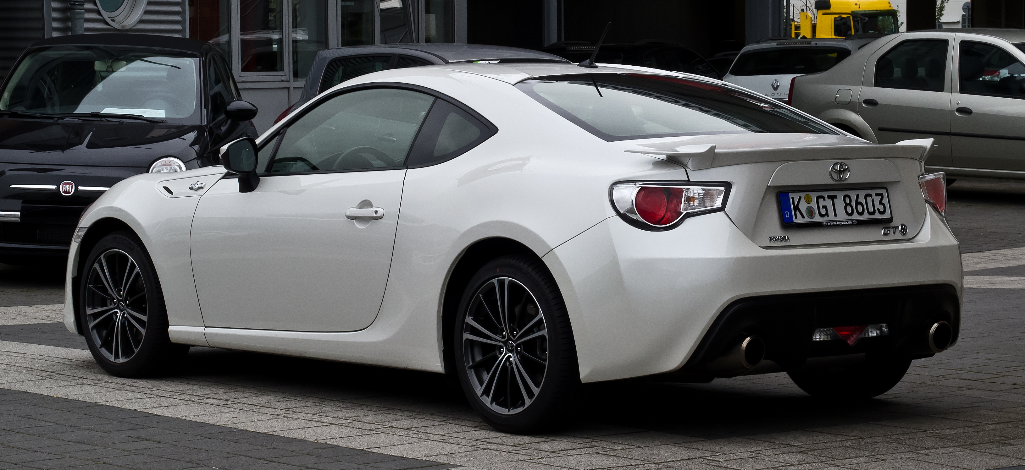 file toyota gt86 heckansicht 17 september 2012 d wikimedia commons. Black Bedroom Furniture Sets. Home Design Ideas