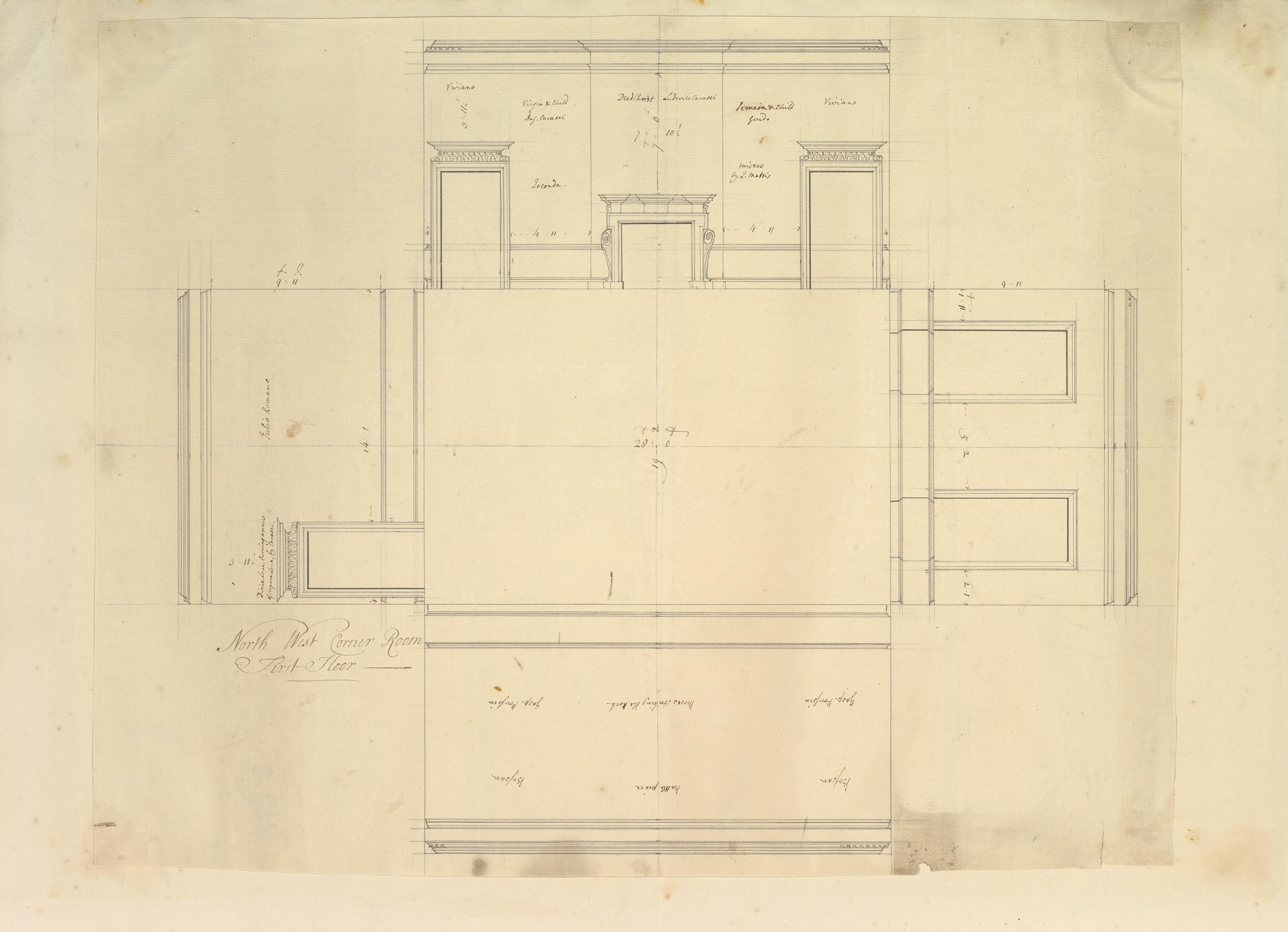 File Treasury House 10 Downing Street London Plan Of