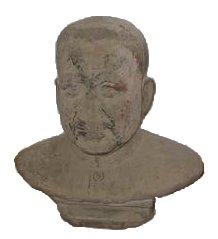 Español: Busto de Pol Pot