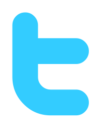 Twitter logo initial