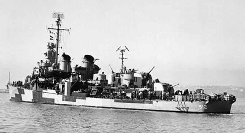 USS Spence