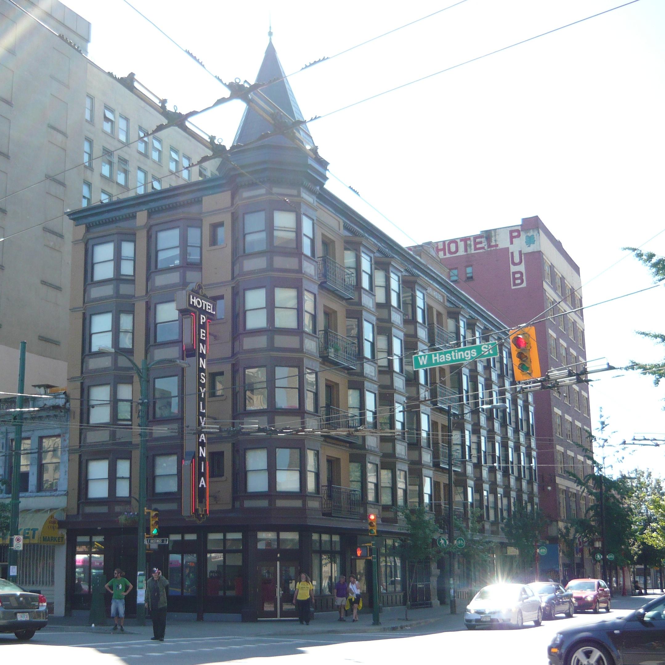 Hotel East Hastings Vancouver